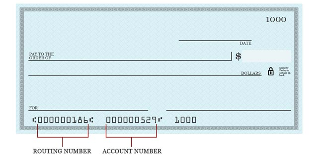 Bank Routing Number   Routing numbers on check WGdC4mTt